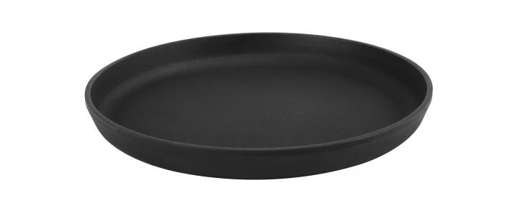 Сковорода чугунная порционная для пиццы ( d=200мм, h=20мм)